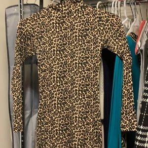 American apparel cheetah leotard